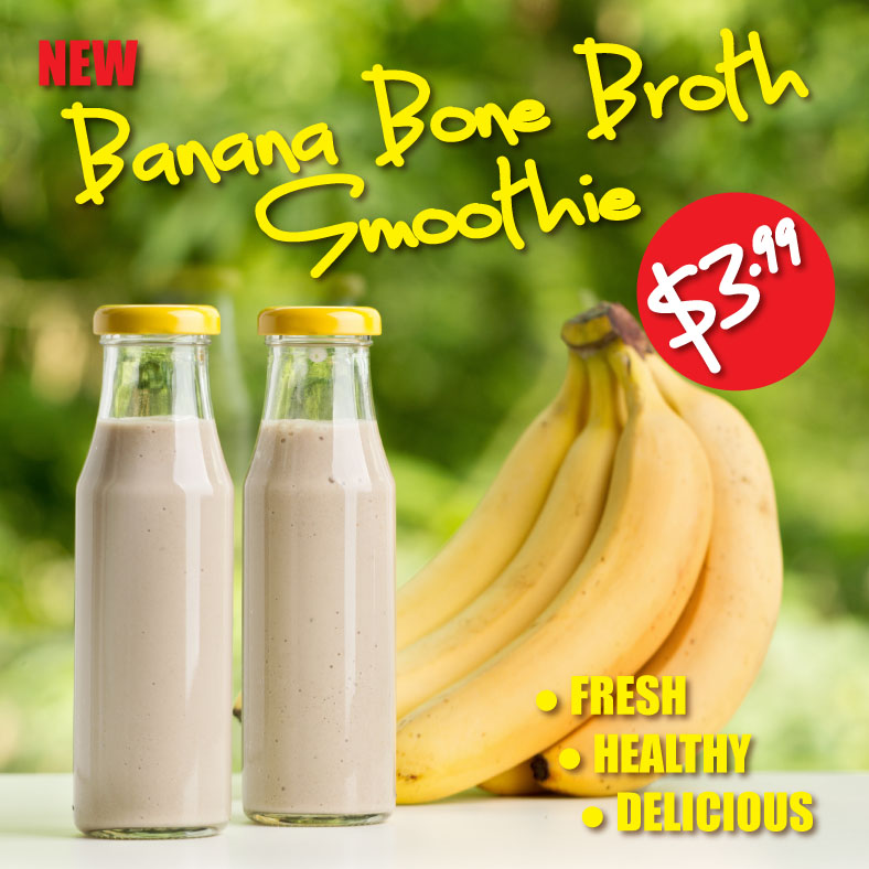 Banana Bone Broth Smoothie